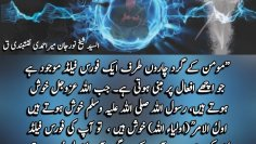Urdu – There is a force field all around the