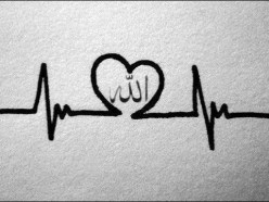 heart beat with Allah, live