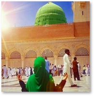 madina_sharif, woman