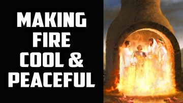 Peace & Comfort in the Raging Fires of Affliction & Tribulation Sufi Meditation Center