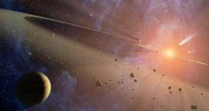 space-light-ring-rocks-planet