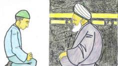 sufi meditation kaba and Qibla