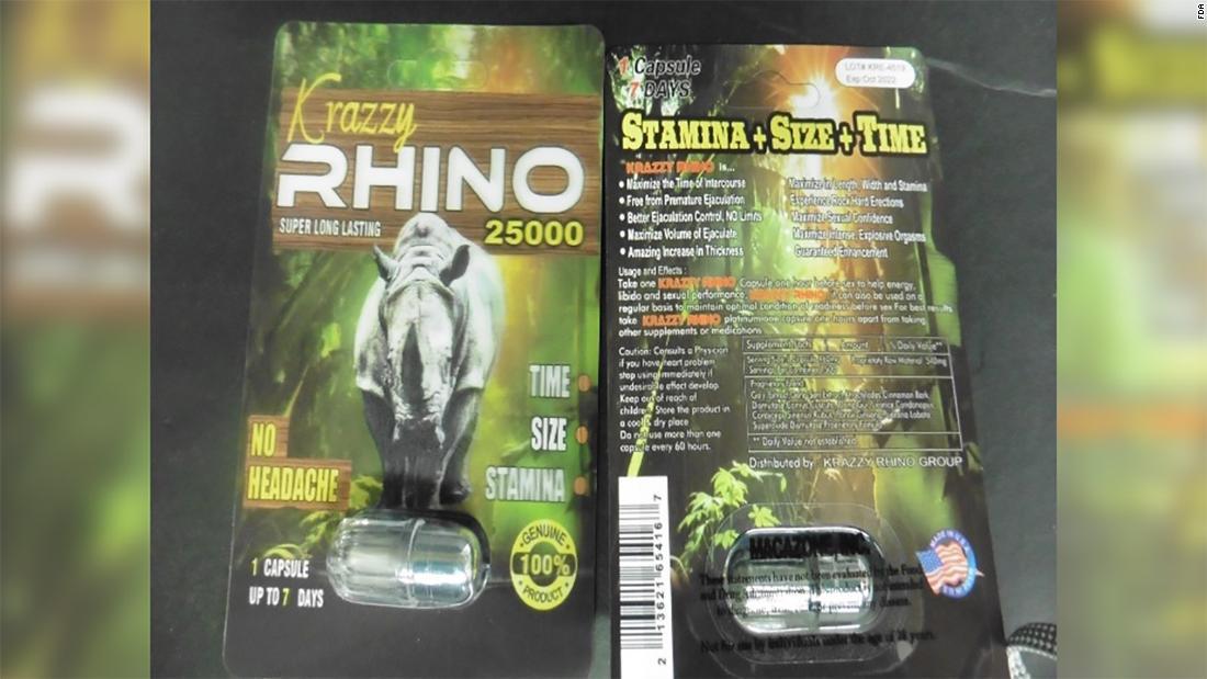 FDA warns against using Rhino male enhancement products