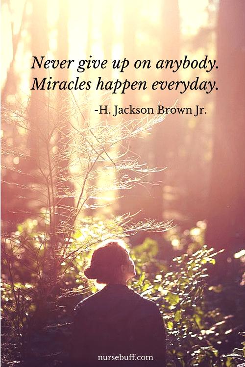 miracles nurses quote