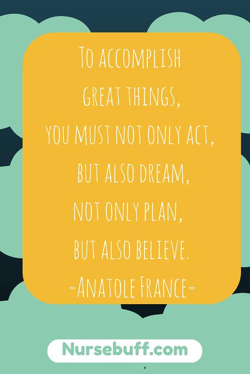nurses inspiring quote