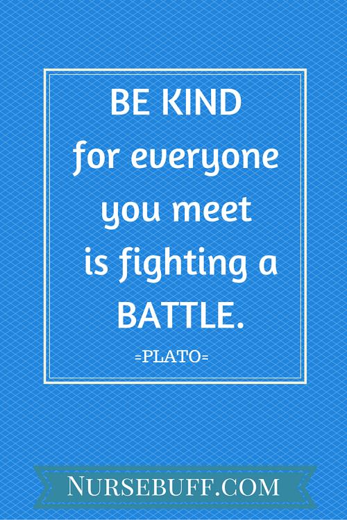 plato inspirational nursing quotes