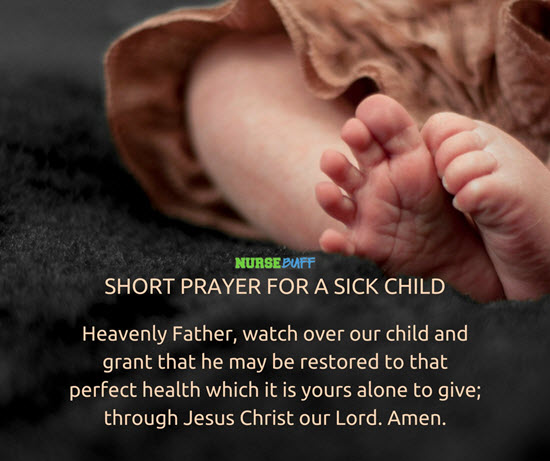 Prayers Hospital Sick