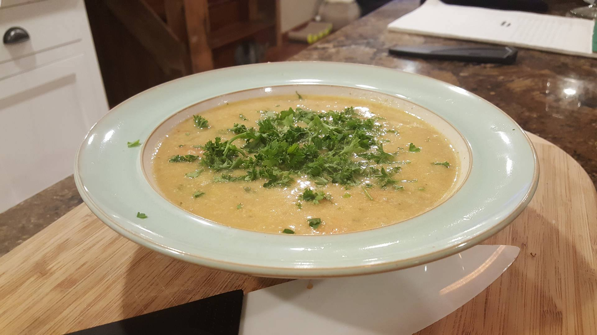 Creamy Potato and Carrot Soup with Quinoa