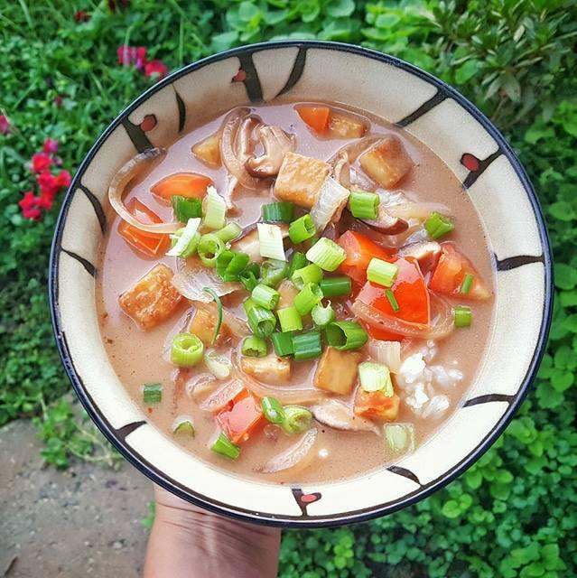 Vegan Tom Kha