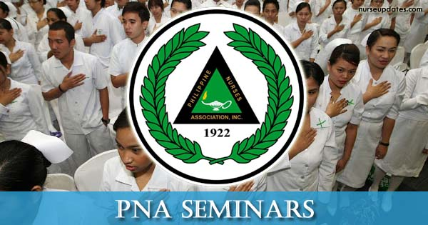 2019 PNA Seminars with CPD units