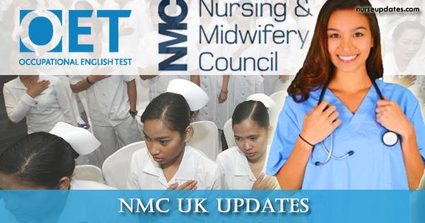 NMC UK to accept OET starting November 1