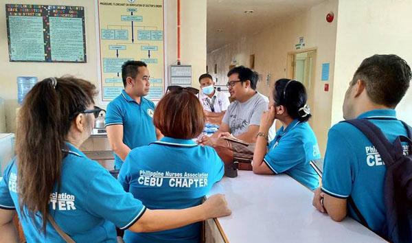 PNA 'outraged' over nurse assault in Cebu hospital