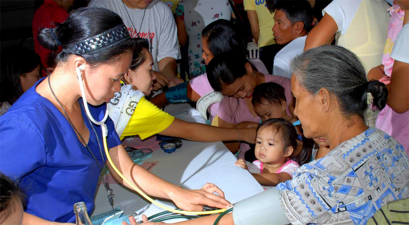 Deployment of nurses in every barangay pushed