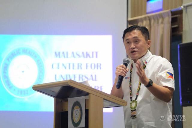 Bong Go attends public health convention