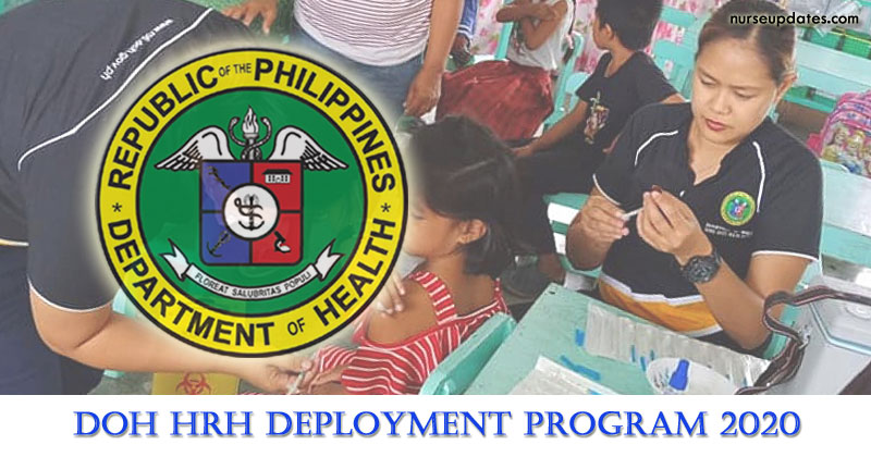 DOH HRH Deployment Program to continue in 2020