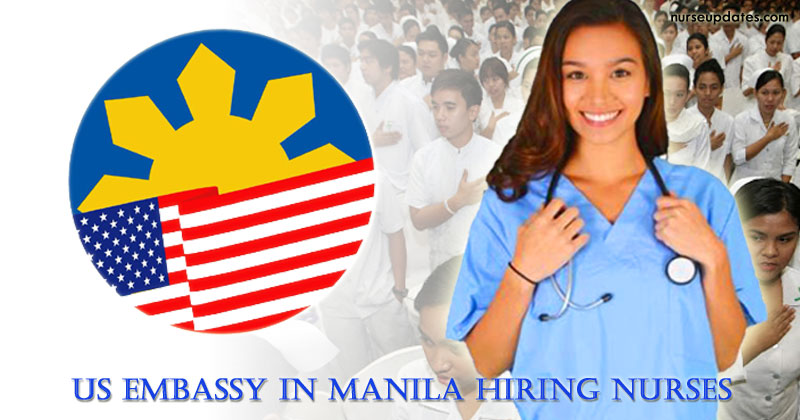 US Embassy in Manila hiring Registered Nurse, salary at ₱770,568