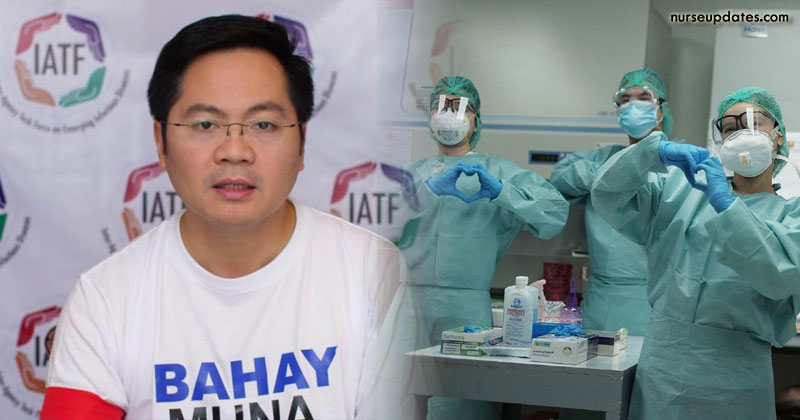 IATF to review temporary deployment ban on Pinoy health workers
