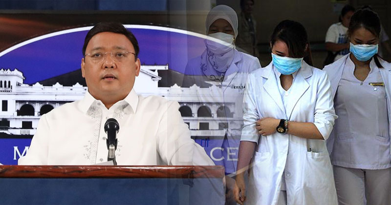 Gov't reimposes total suspension on deployment of health workers abroad