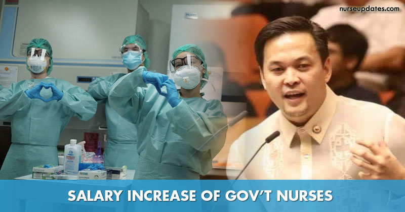 Gov't nurses may now expect nearly P40,000 monthly salary, solon says