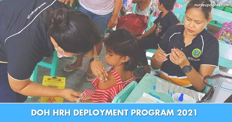 Bigger budget for DOH HRH Deployment Program 2021