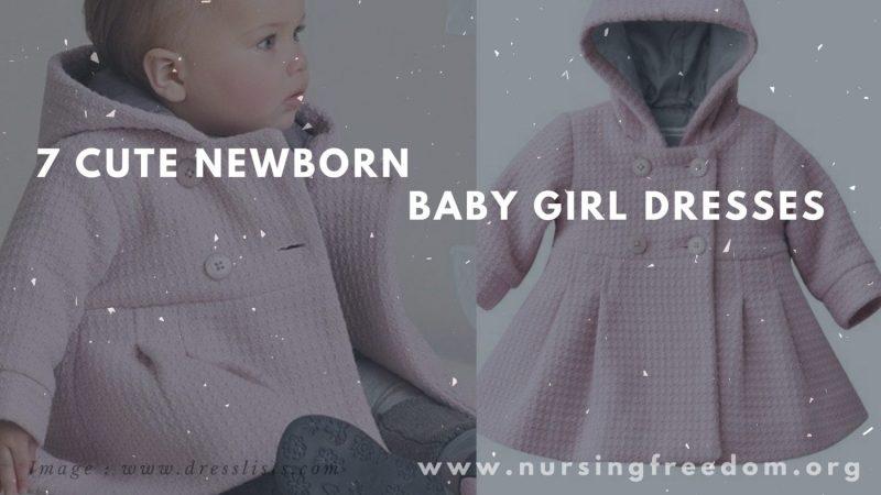 7 Cute Newborn Baby Girl Dresses