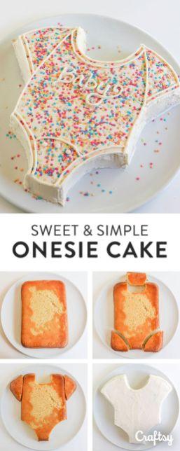 onesies cake