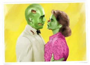 Zombie romance