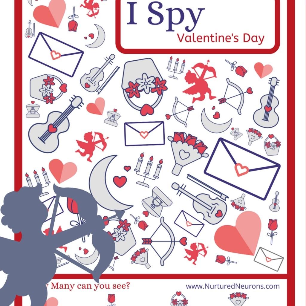 Free Printable Valentine S Day I Spy Game