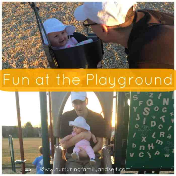 Family Fun at the Playground