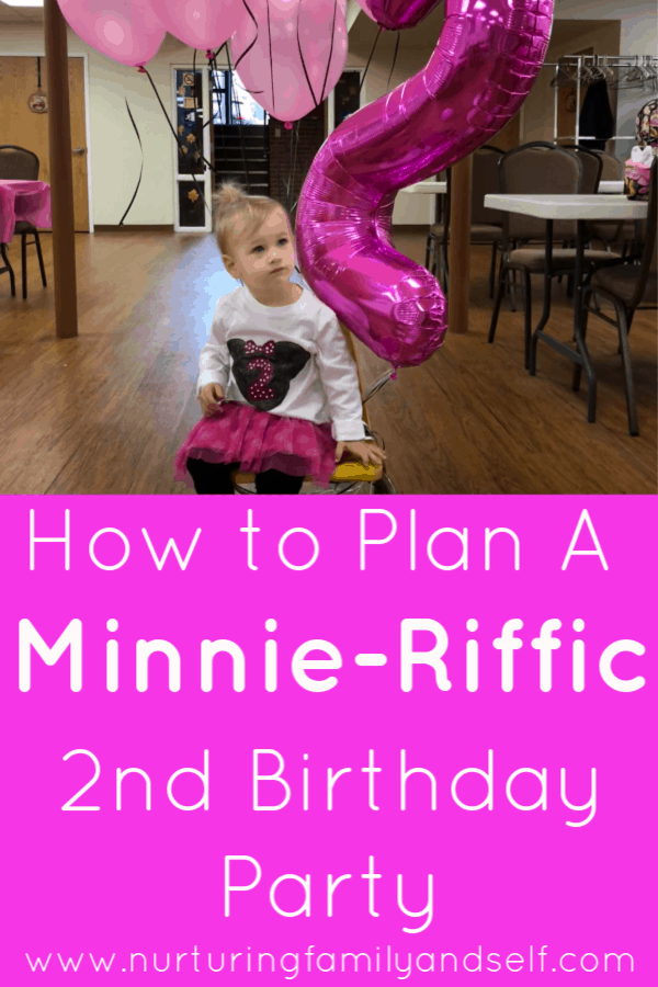 minnie mouse themed 2nd birthday party