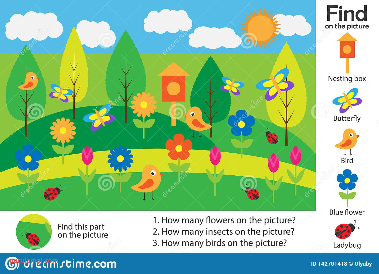 Spring Maze Worksheet Printable Nurul Amal