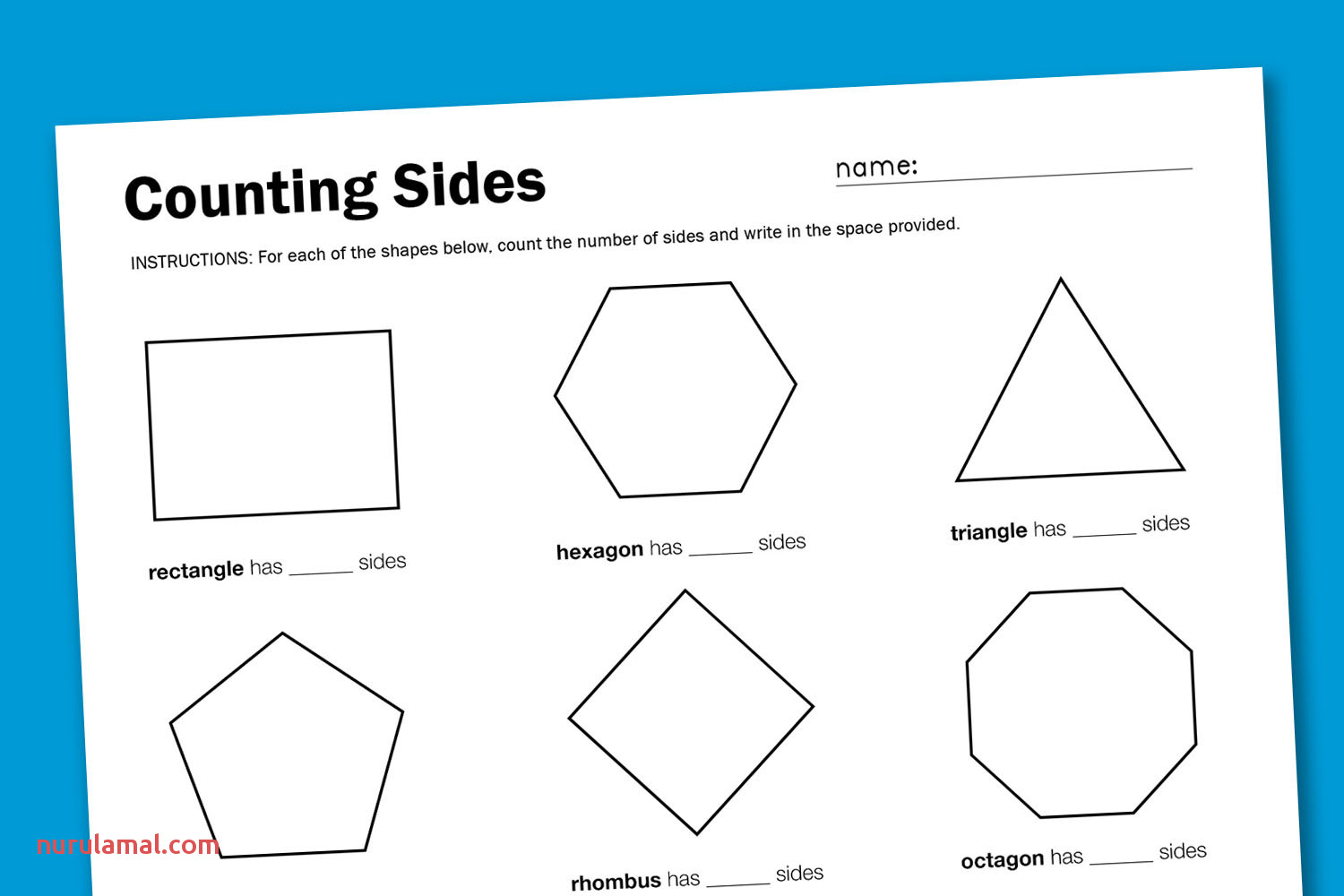 Worksheets Finding Perimeter