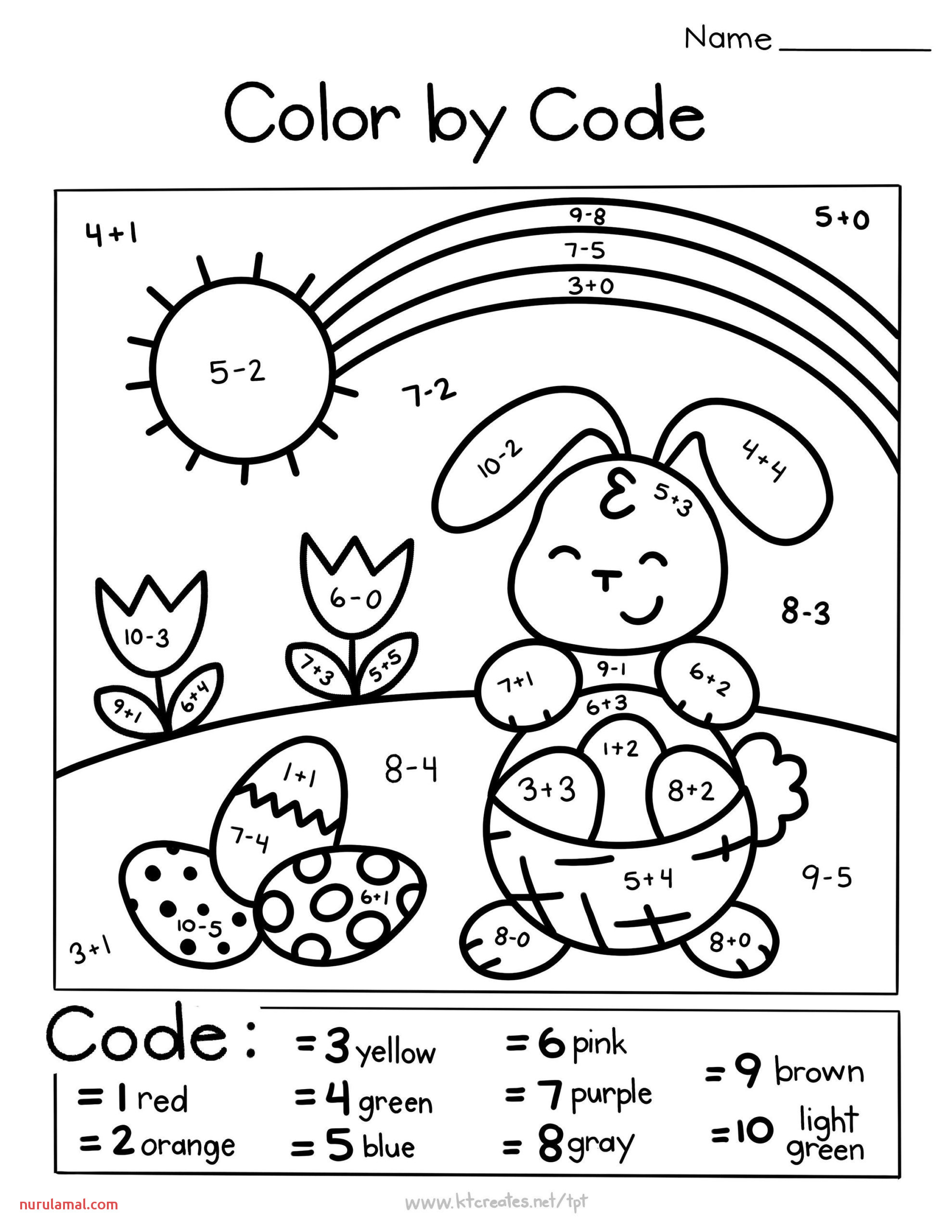 Easter Preschool Bunny Trace Worksheets 1