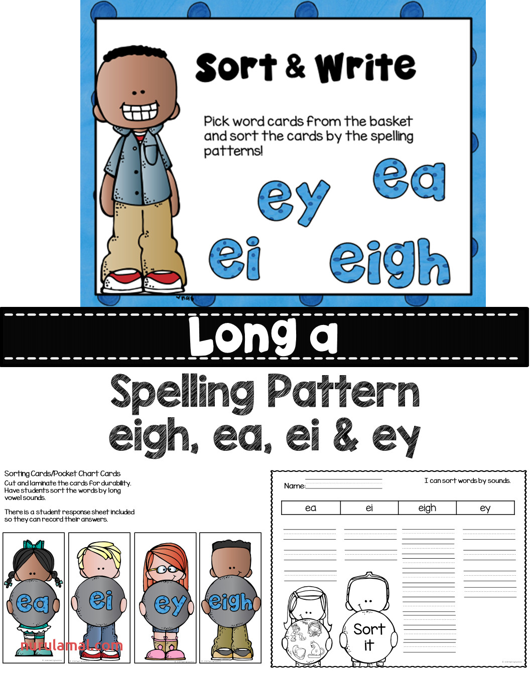 Printable Phonics Worksheets