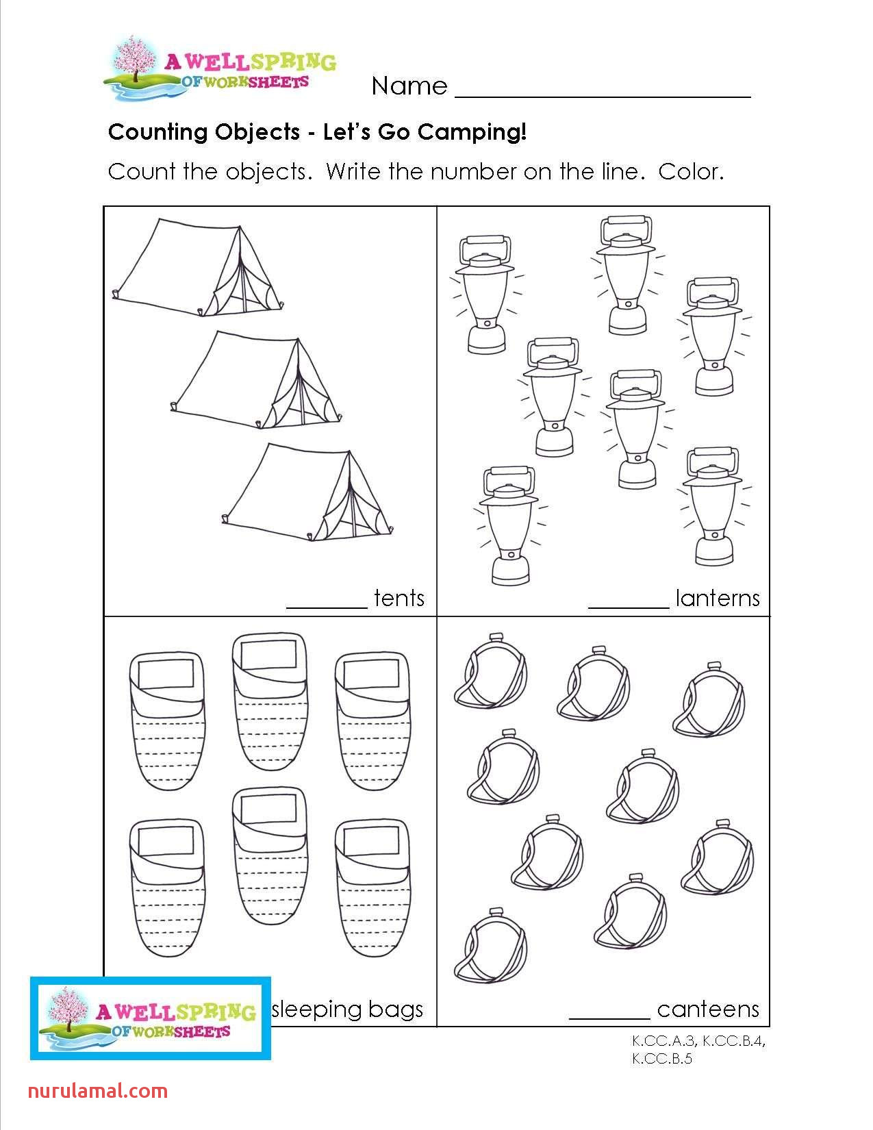 Printable Pre K Worksheets Packets