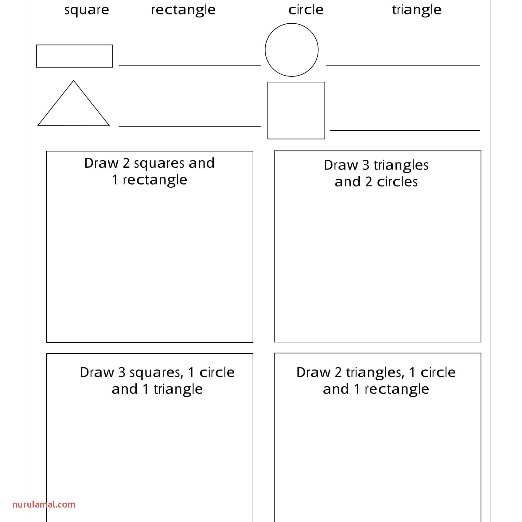 Worksheets For 6 Year Olds To Print Material