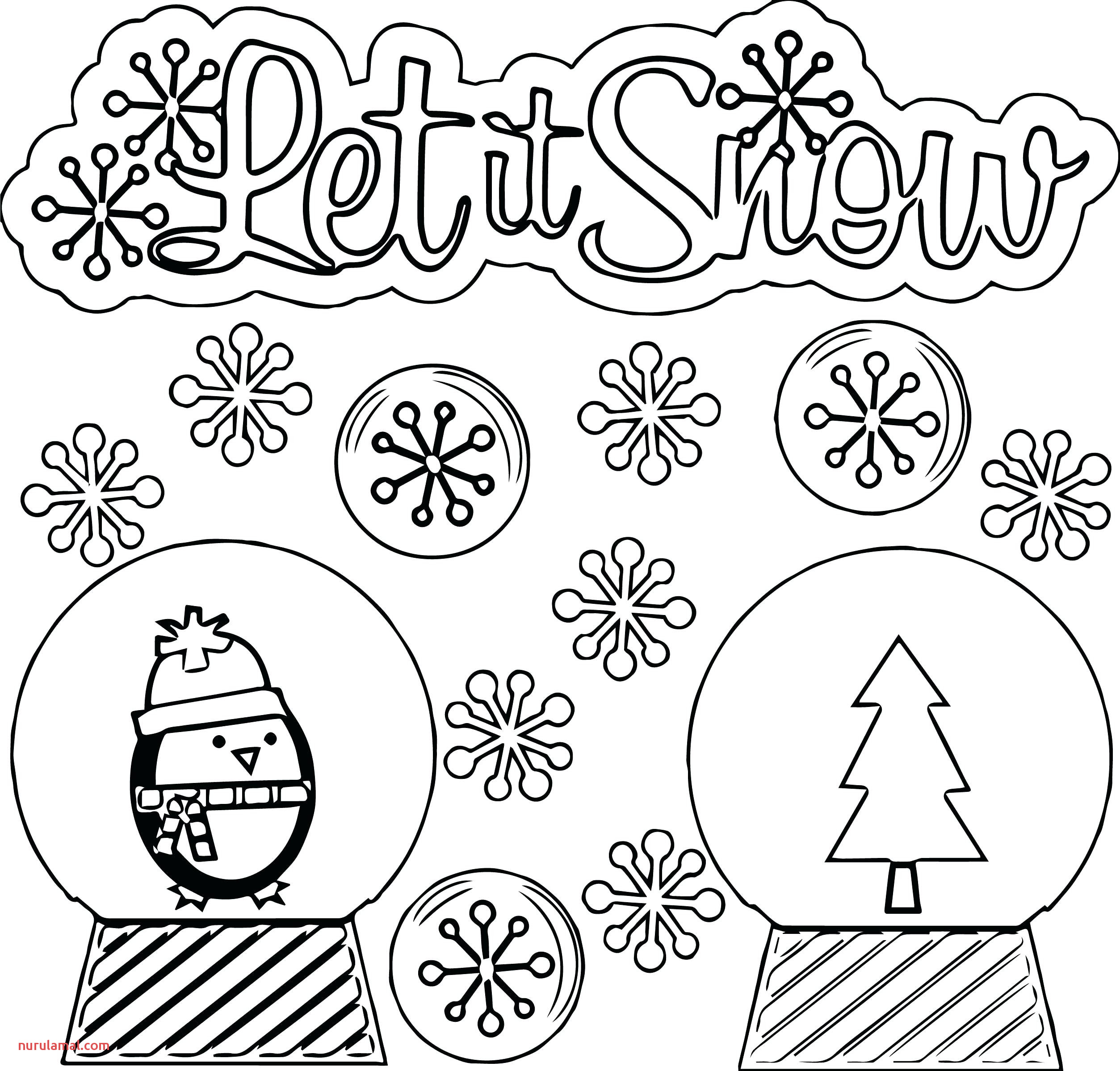Winter Math Worksheet Online