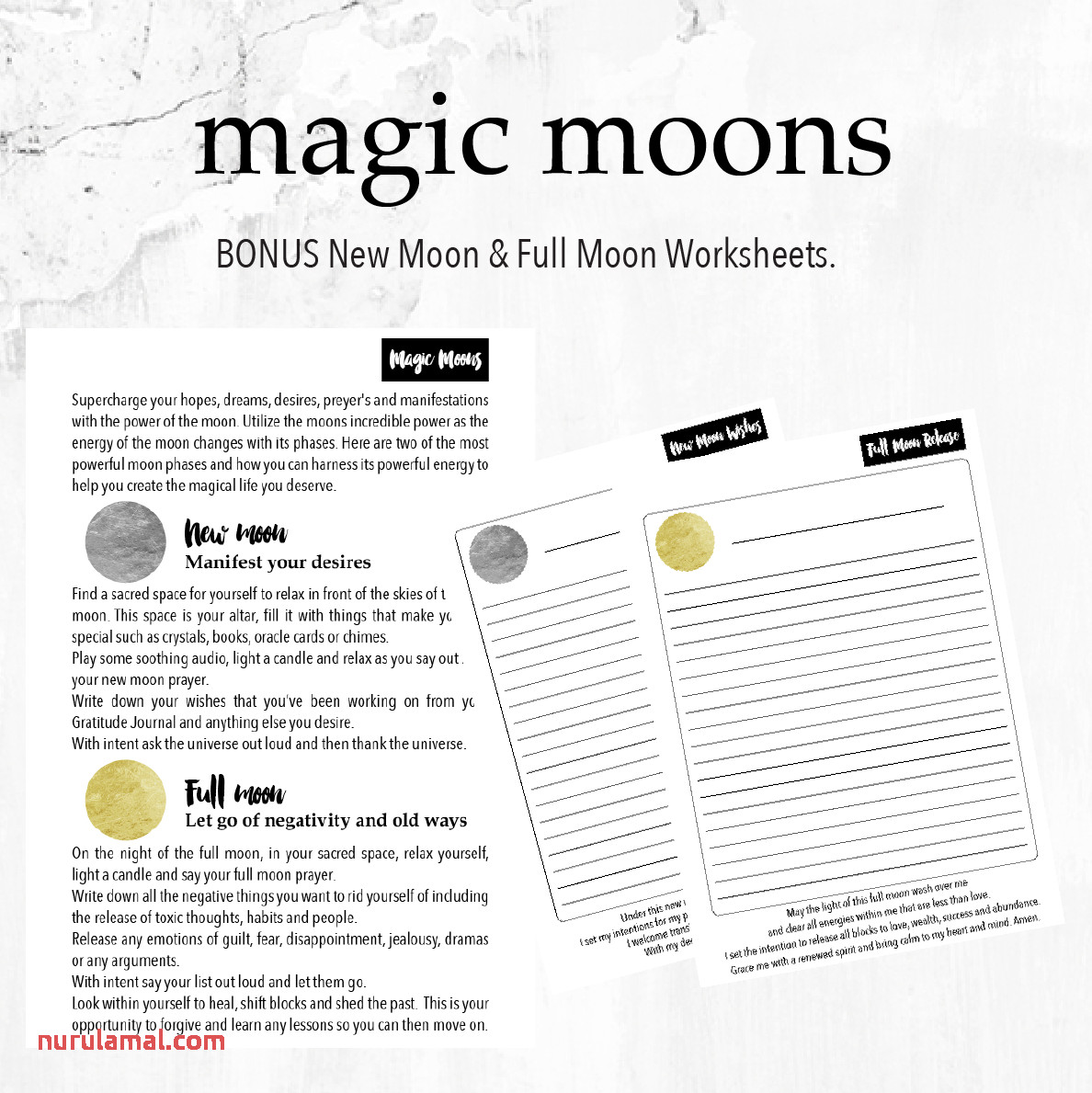 Worksheets The Many Phases Of The Moon