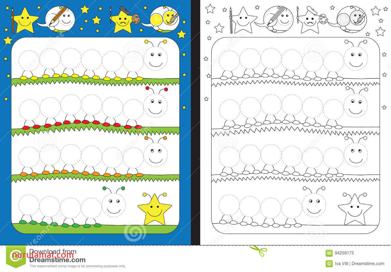 Preschool Tracing Practice Worksheets