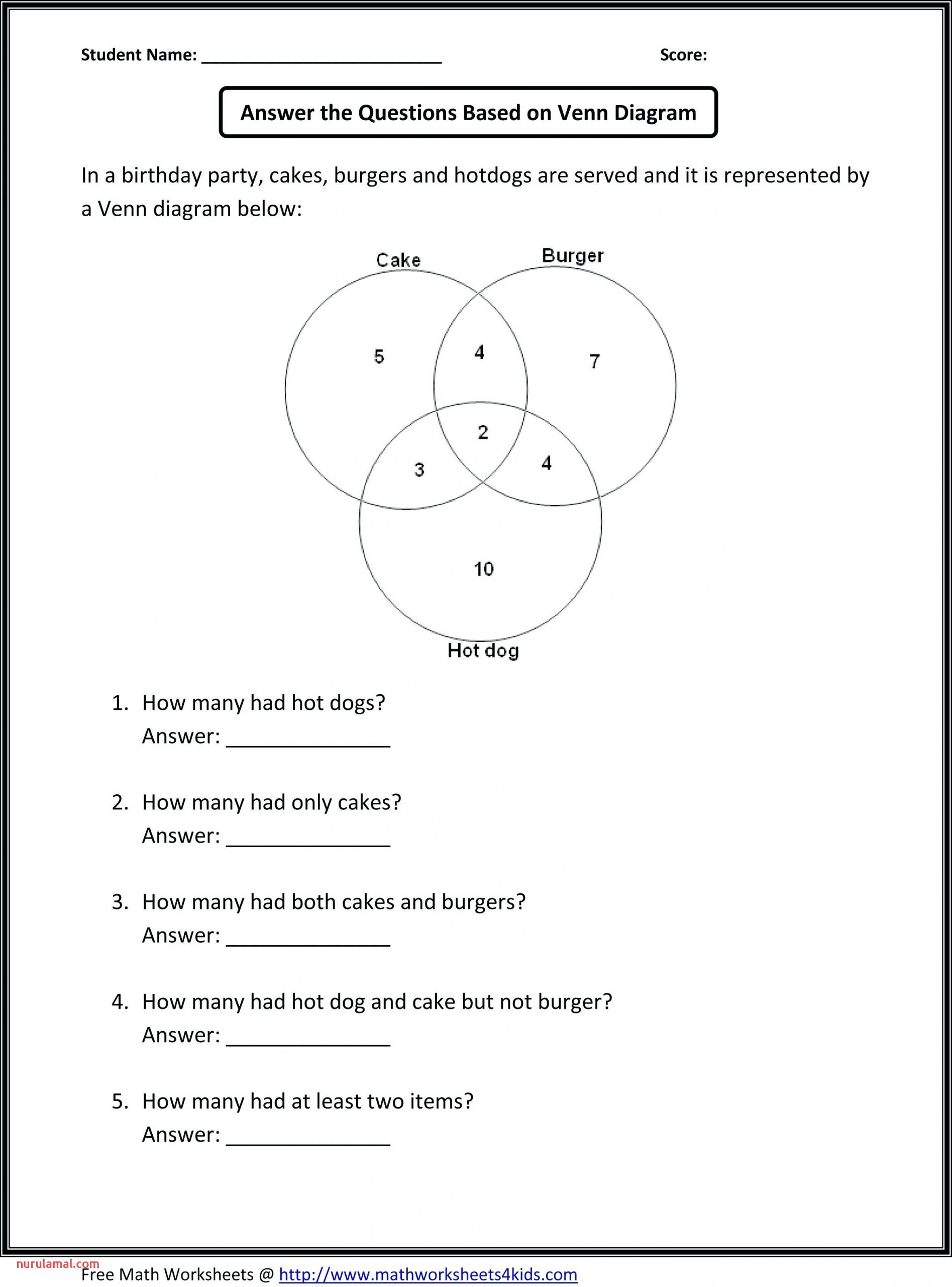 5th Grade Math Equations Worksheets Nurul Amal