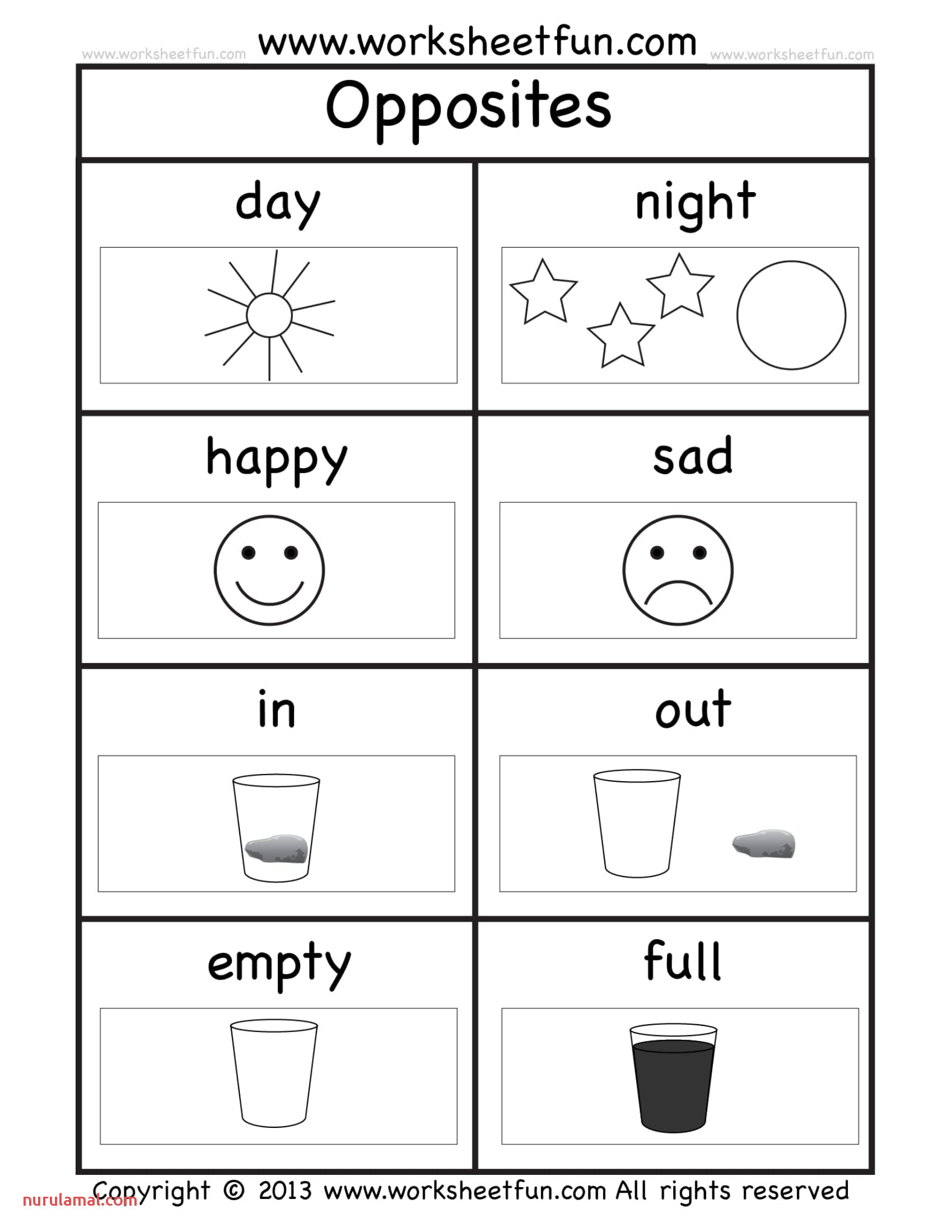 Kindergarten Spelling Worksheet