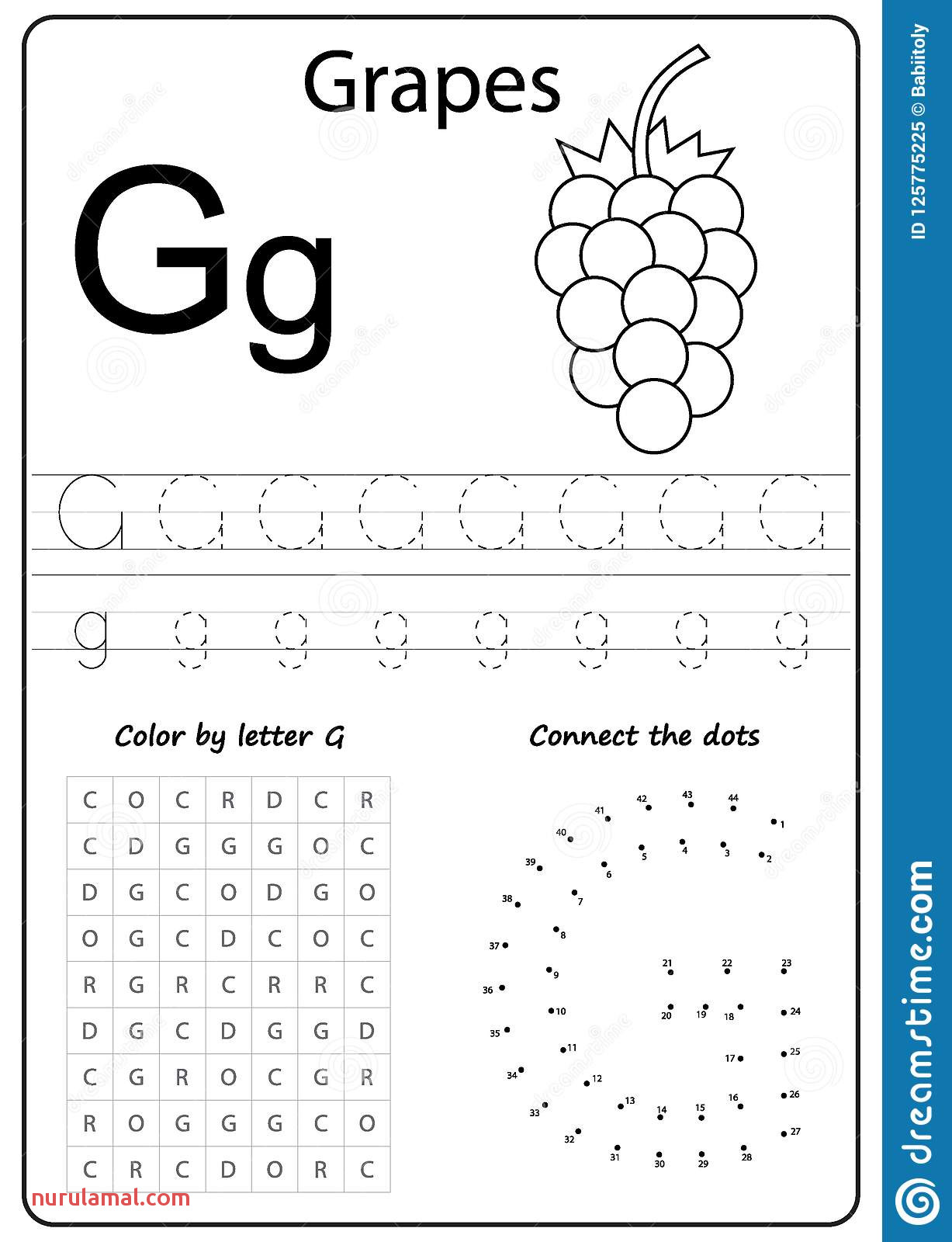 Alphabet Worksheets Preschool Coloring Pages