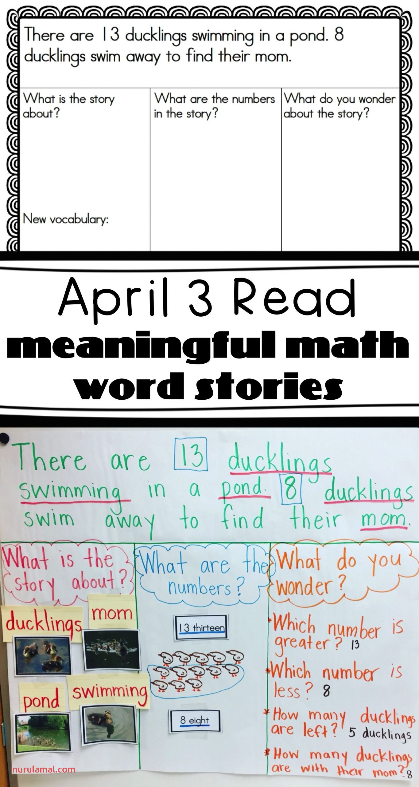 Problem Solving Worksheets First Grade