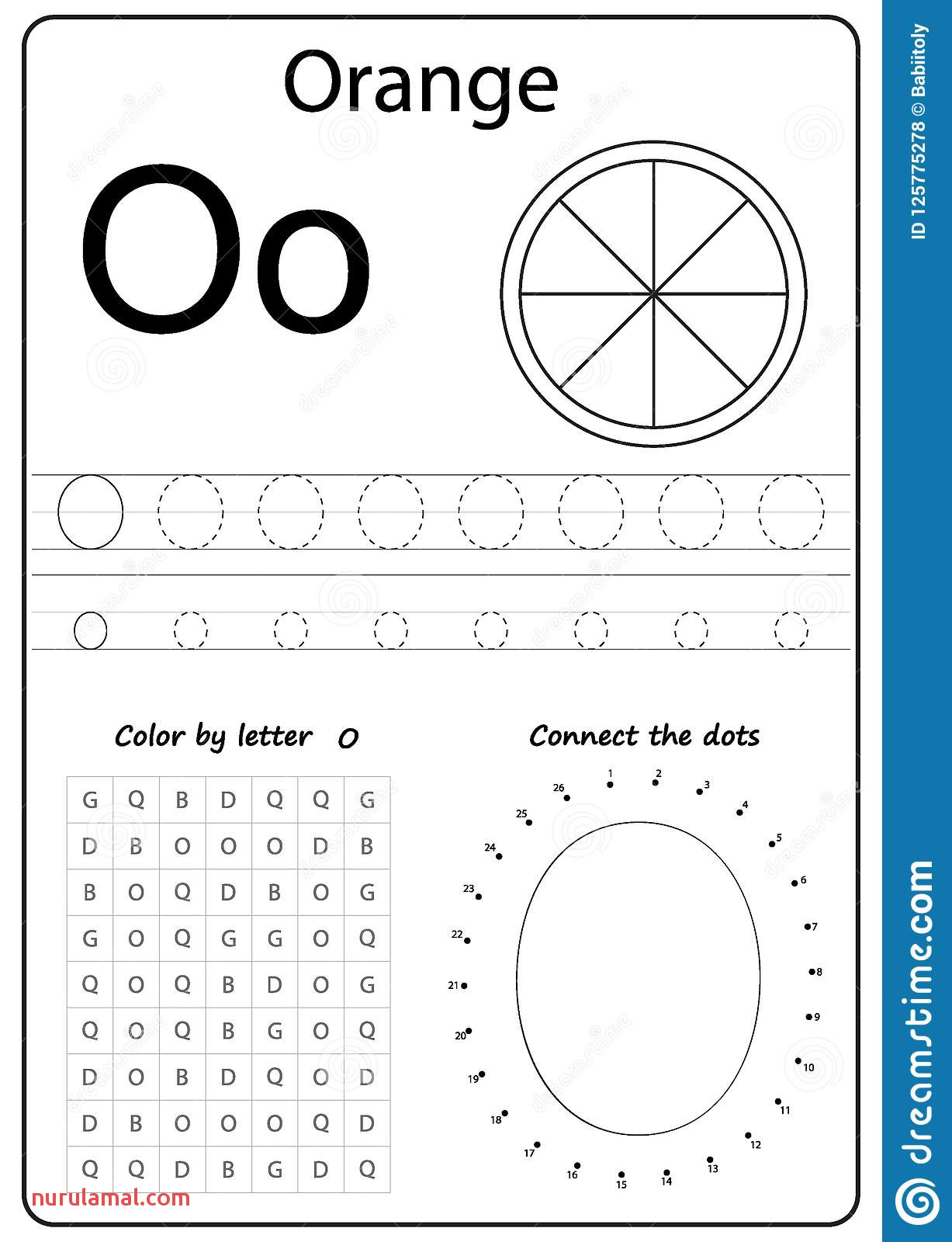 Handwriting Tracing Preschool Worksheets