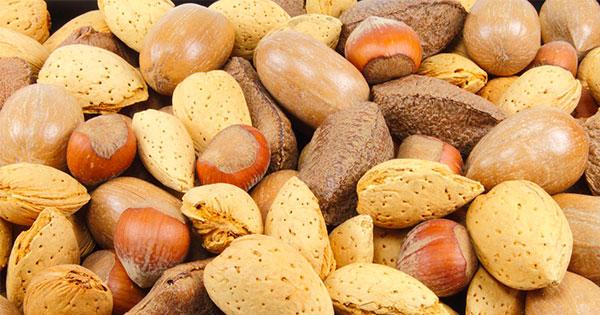 noci nocciole mandorle afrodisiaci naturali