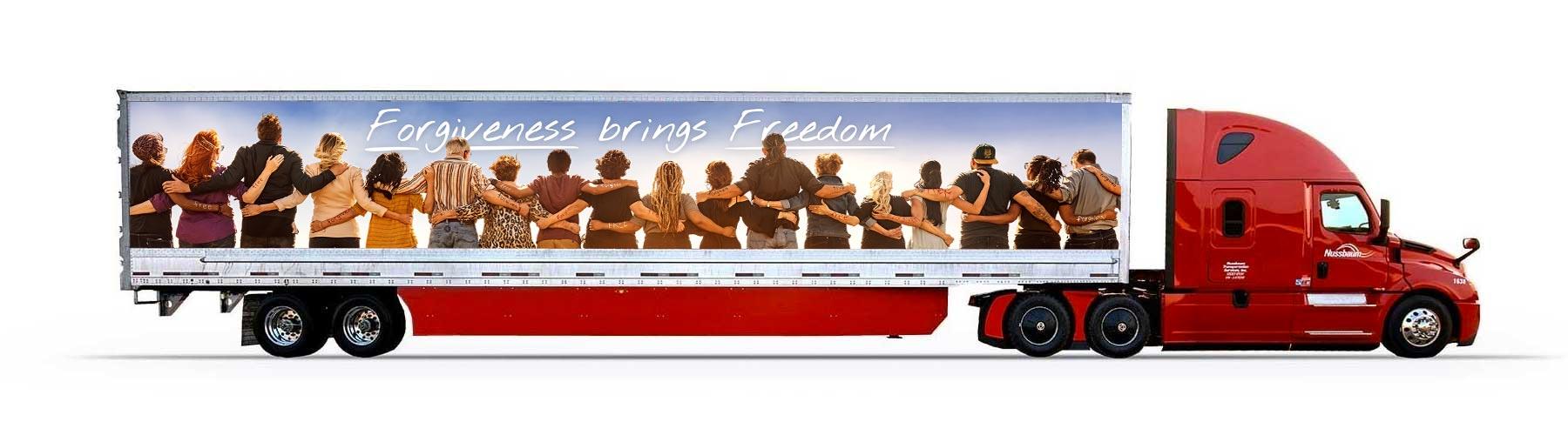 ForgivenessBringsFreedom_Truck