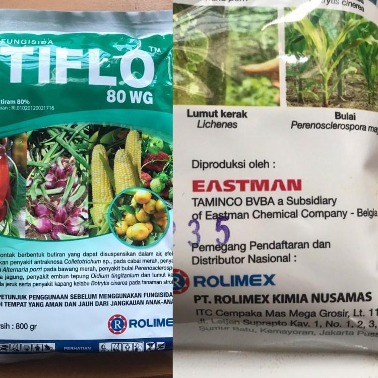 Fungisida Tiflo, Tiram