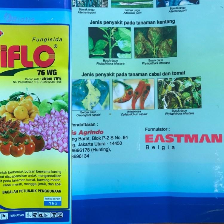 Fungisida Ziflo, Ziram