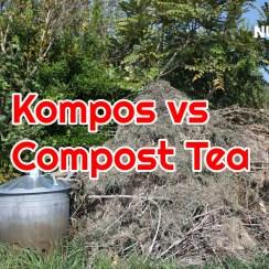 Kompos vs Compost tea Bunkai