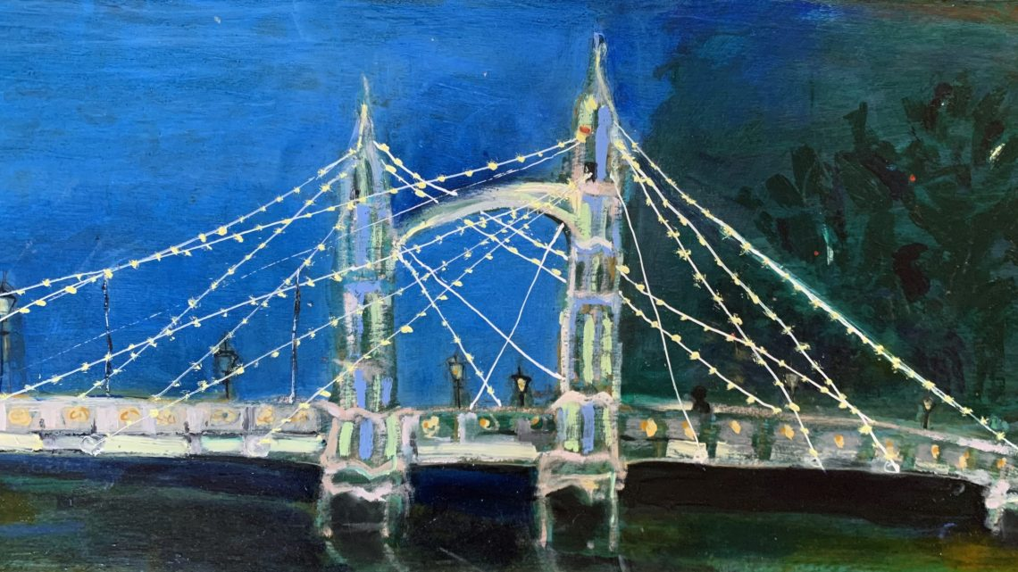 Albert Bridge by Bridget Gladwin